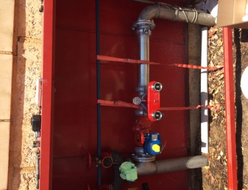 Backflow installation and testing